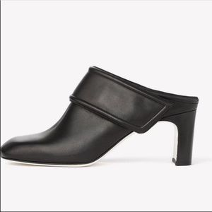 Rag & Bone New York Elliot Heel Mule Black 37 US 7